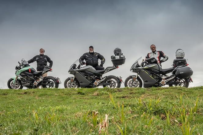Validierung der E-Motorrad Tour